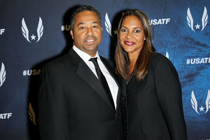 Max Siegel and his wife, Dr. Jennifer Satterfield-Siegel, own Rev Racing, part of NASCAR's diversity program.