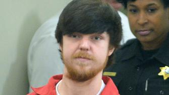 "Ethan Couch,  the so-called ""affluenza"" teen, is brought into court for his adult court hearing at Tim Curry Justice Center in Fort Worth, Texas April 13, 2016.  A Texas county judge sentenced Couch on Wednesday to serve four consecutive 180-day terms in jail for violating a juvenile probation deal that kept him out of prison after he killed four people while driving drunk in 2013.  REUTERS/Fort Worth Star-Telegram/Max Faulkner/Pool"
