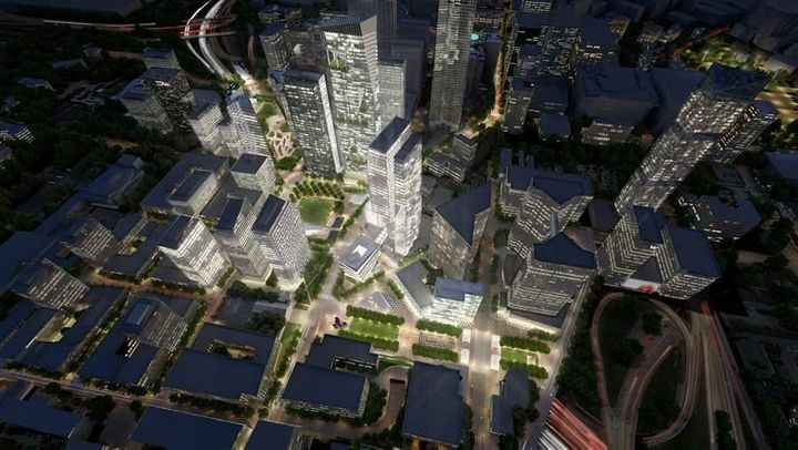 The Stitch is a $300 million proposed project that would cover portions of the Interstate 75/ Interstate 85 connector th