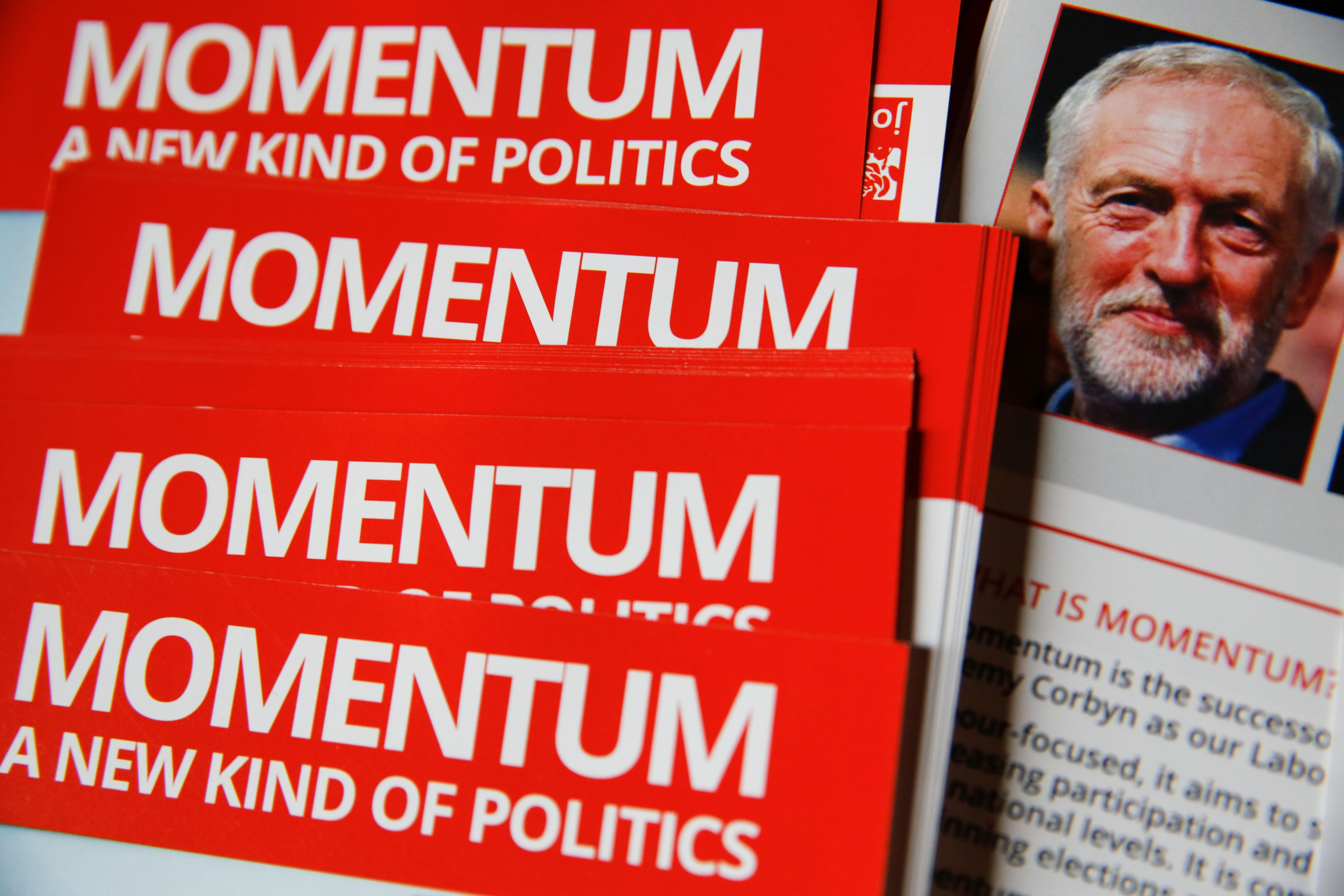 Pro-Corbyn Group Momentum Says Anti-Semitism Claims 'Cannot Be Dismissed As Simply Right-Wing