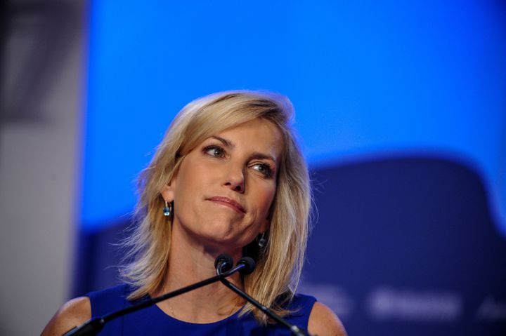 Laura Ingraham at the Value Voters Summit in Washington, D.C., on Oct. 14, 2017.