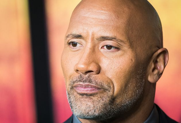Dwayne Johnson attends a movie premiere on Dec. 7, 2017, in