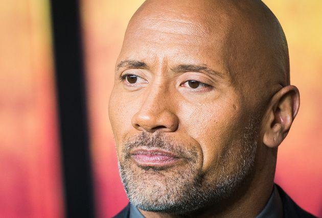 Dwayne Johnson attends a movie premiere on Dec. 7, 2017, in