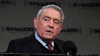 WASHINGTON, DC - MARCH 23:  Dan Rather (pictured) hosts a SiriusXM Roundtable Special Event with Parkland, Florida, Marjory Stoneman Douglas High School Students and activists Emma Gonzalez, David Hogg, Cameron Kasky, Alex Wind , and Jaclyn Corin at SiriusXM Studio on March 23, 2018 in Washington, DC.  (Photo by Larry French/Getty Images for SiriusXM)
