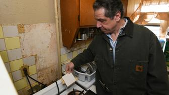 Gov Cuomo described the homes he saw as some of the worst living conditions I have ever witnessed