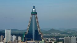 North Korea's Evil-Looking Hotel Has A Brighter