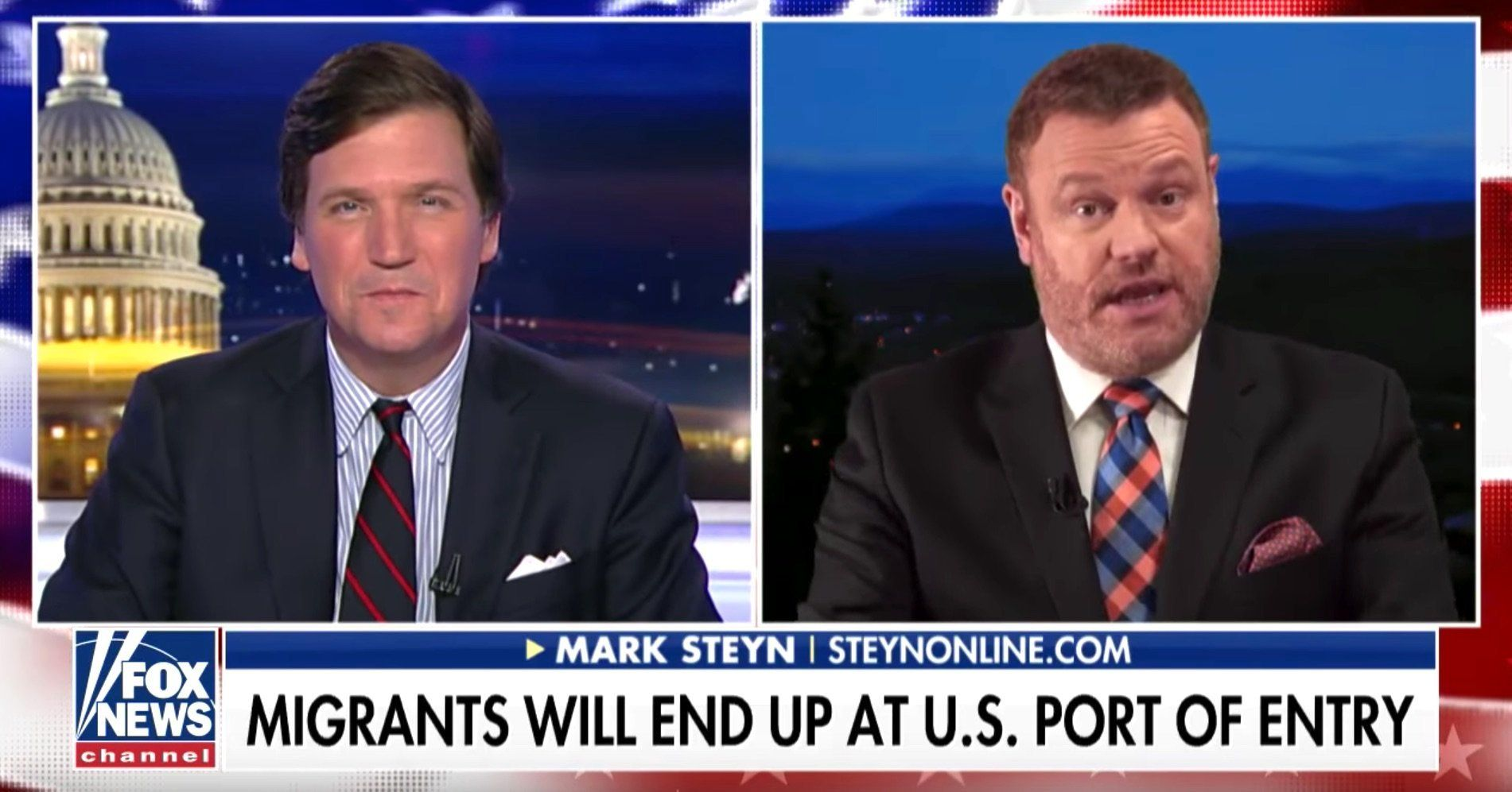 Tucker Carlson Mark Steyn