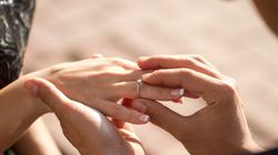 Paar will intime Verlobung in der Wüste – auf einem Foto sehen beide, dass sie nicht alleine