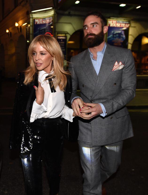 Kylie split from Joshua in February last
