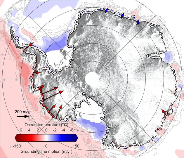 The Antarctic Ice Sheet Has Lost An Area 'The Size Of