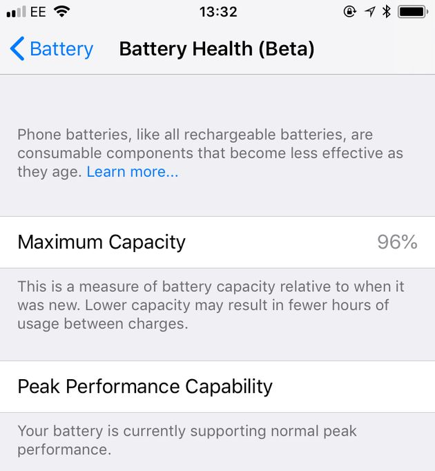 Apple iOS 11.3 Update: Find Out If Your iPhone's Battery Needs