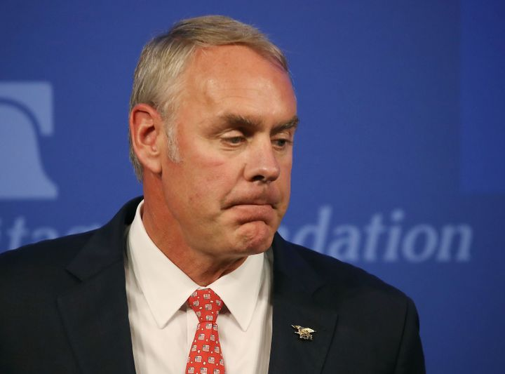 Ryan Zinke described himself as a champion of public lands but cozied up to fossil fuel interests.