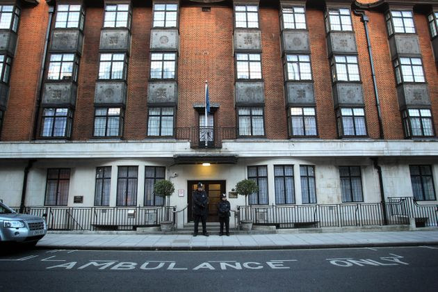 King Edward VII's Hospital, central London, is favoured by the