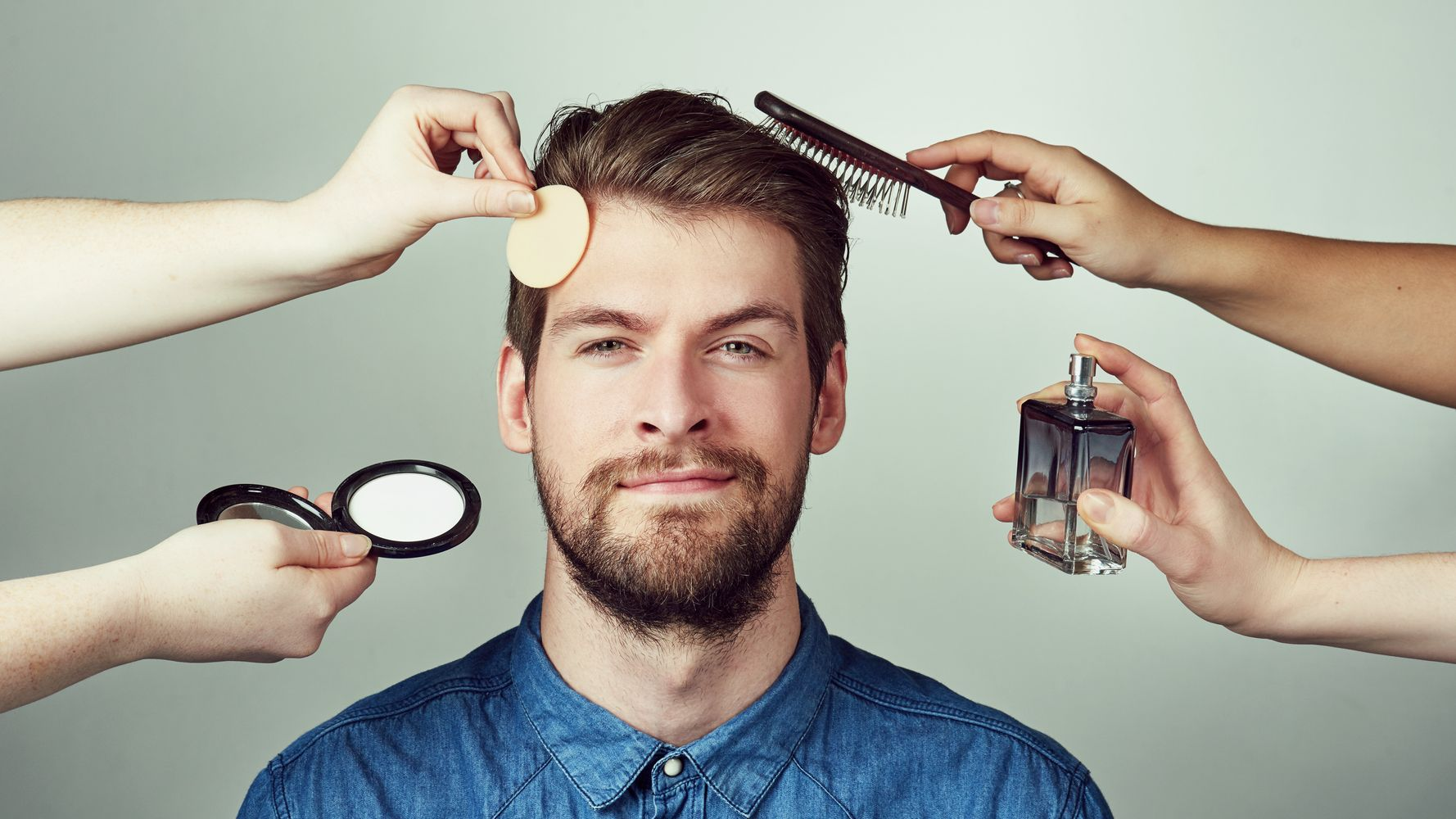 Dear Men, It's Totally OK To Wear Makeup | HuffPost Life