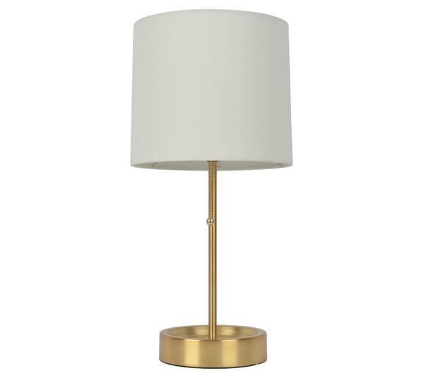 "Get it at <a href=""https://www.target.com/p/stick-table-lamp-with-single-outlet-brass-finish-room-essentials-153/-/A-52003827"