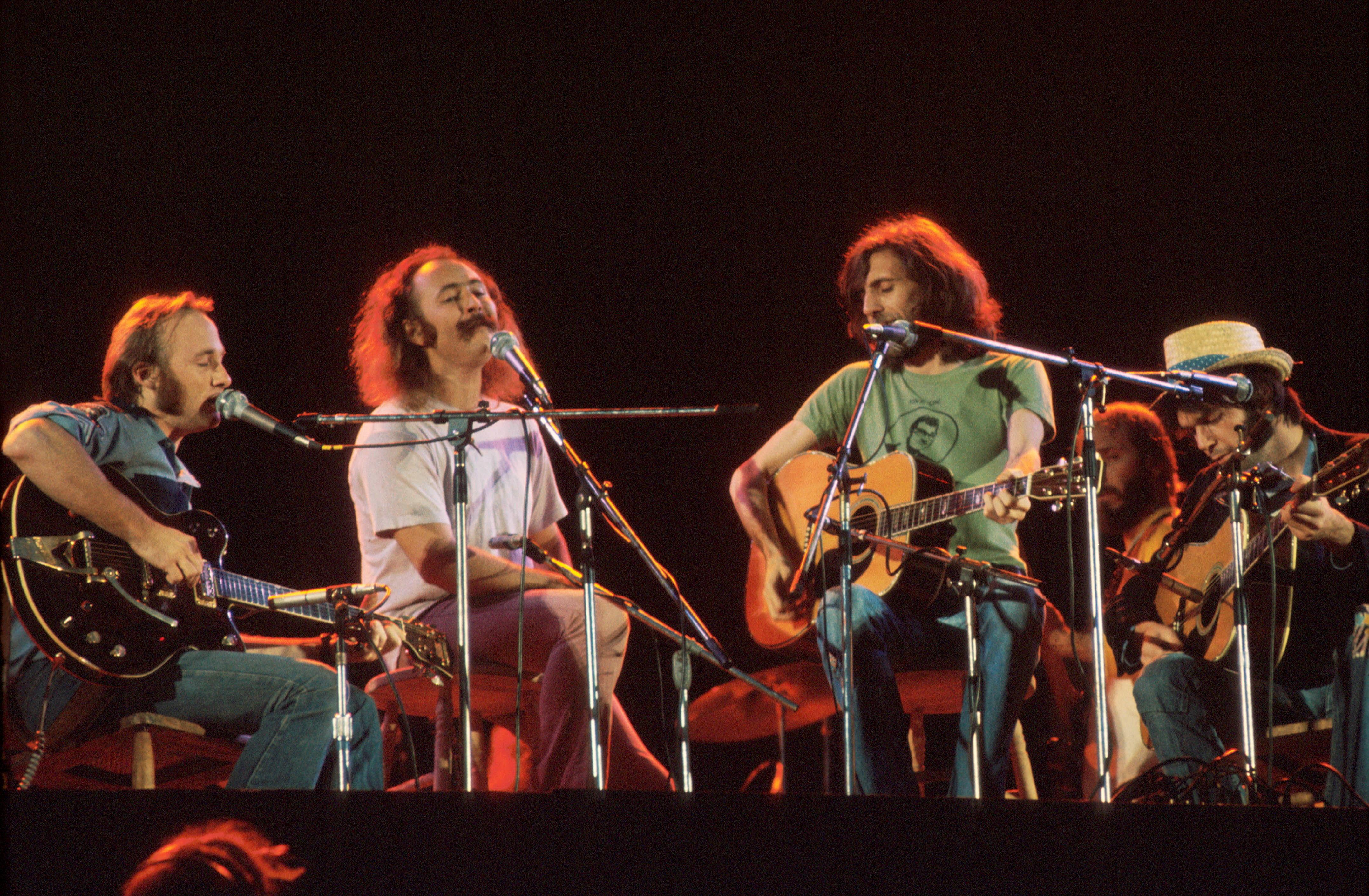CSNY in 1974.
