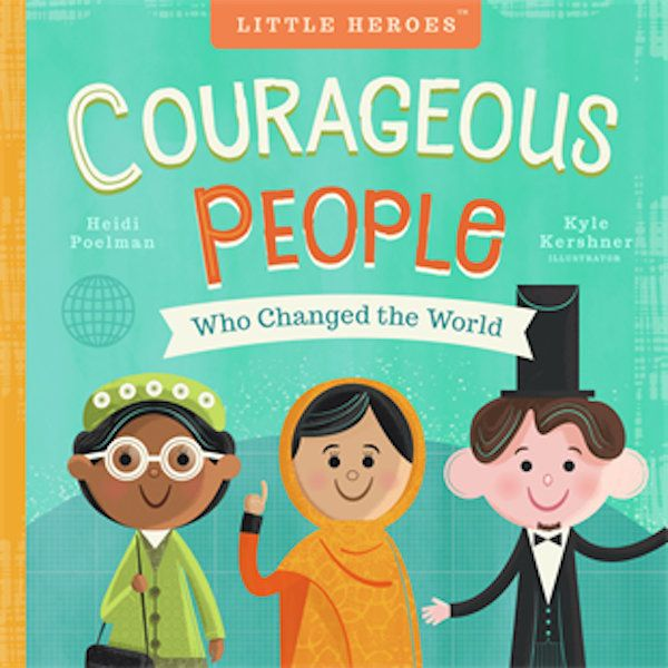"""Kingjoins other trailblazers like Malala Yousafzai and Harriet Tubman in this book about """"courageous people,"""" written b"""