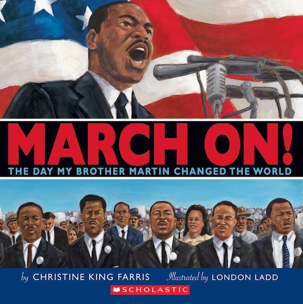 In<i>March On</i>, activist Christine King Farris shares what it was like to watch King, her brother, prepare and give