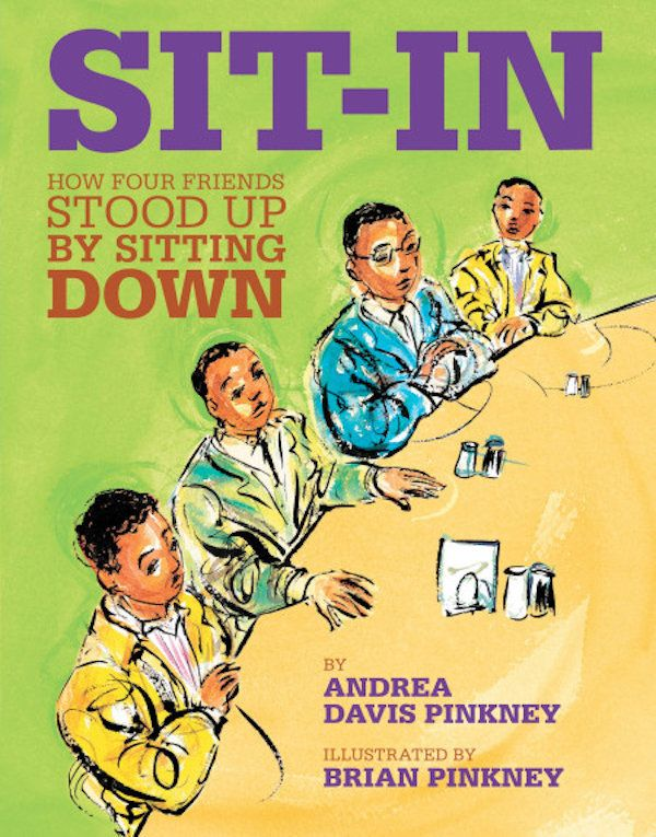 """<i>Sit-In</i>teaches young readers aboutthe <a href=""""http://americanhistory.si.edu/brown/history/6-legacy/freedom"""