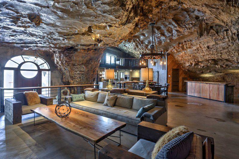 Unique Beckham Cave Home