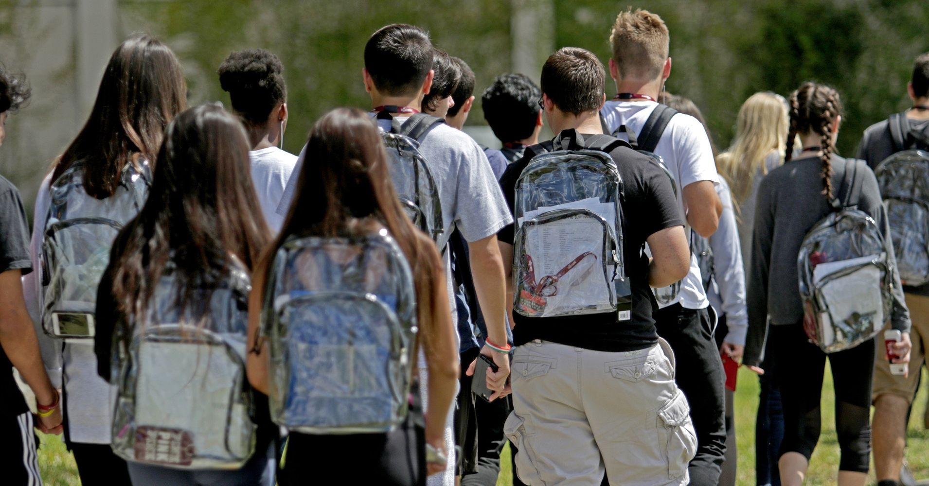 Parkland Students Protest Clear Backpacks With Tampons And ...