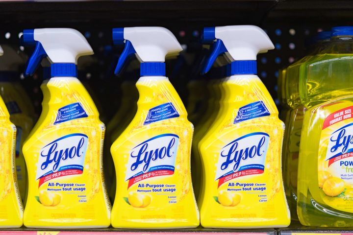 Lysol was used as a disinfectant during the cholera and flu epidemics before it was promoted as a feminine hygiene product.