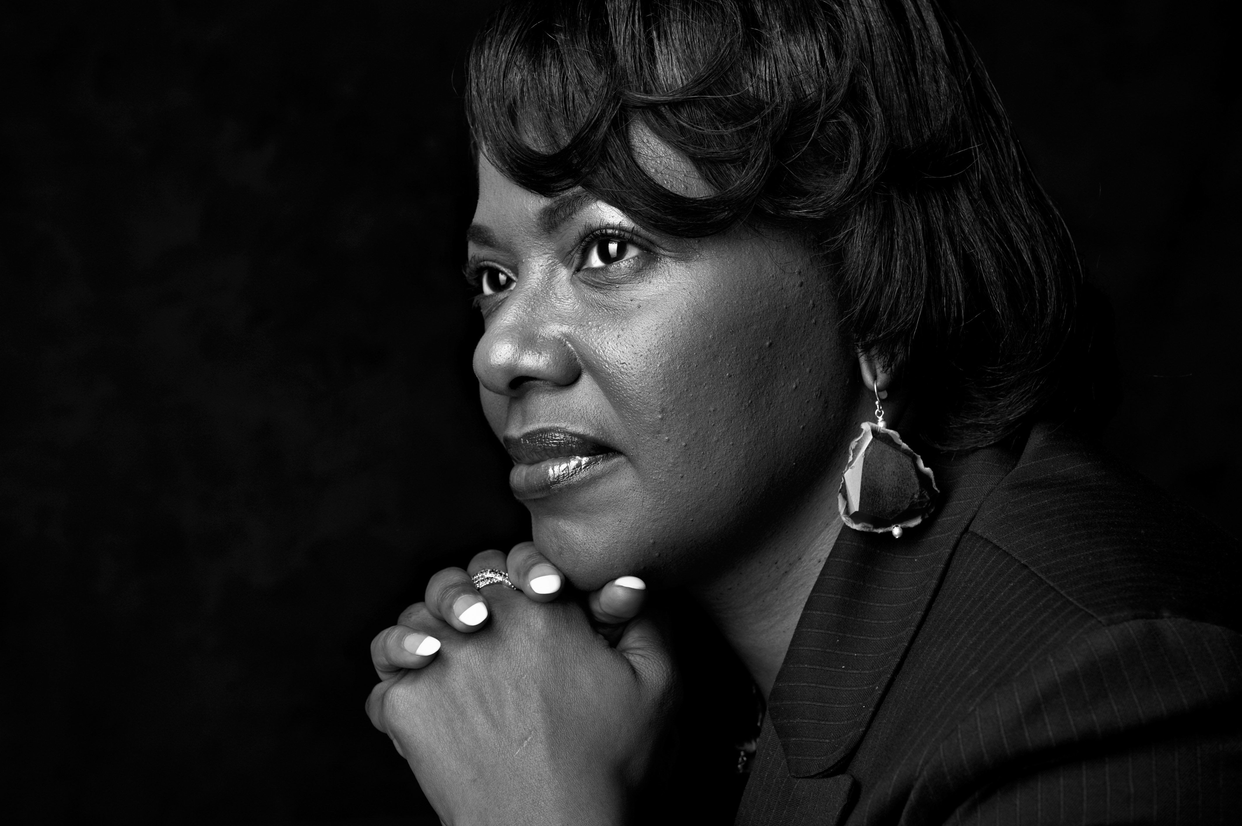"""""""I think we need to heed some of the things that he was trying to instruct us on while he was with us,"""" Bernice King says of"""