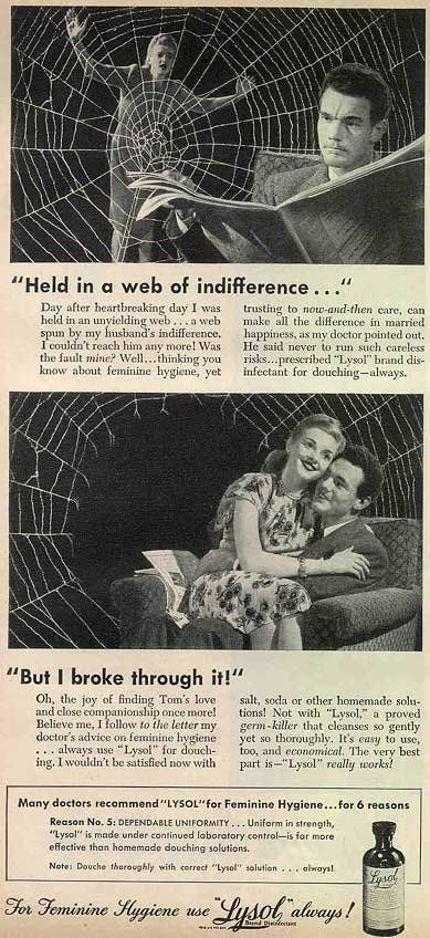 Another vintage Lysol ad.