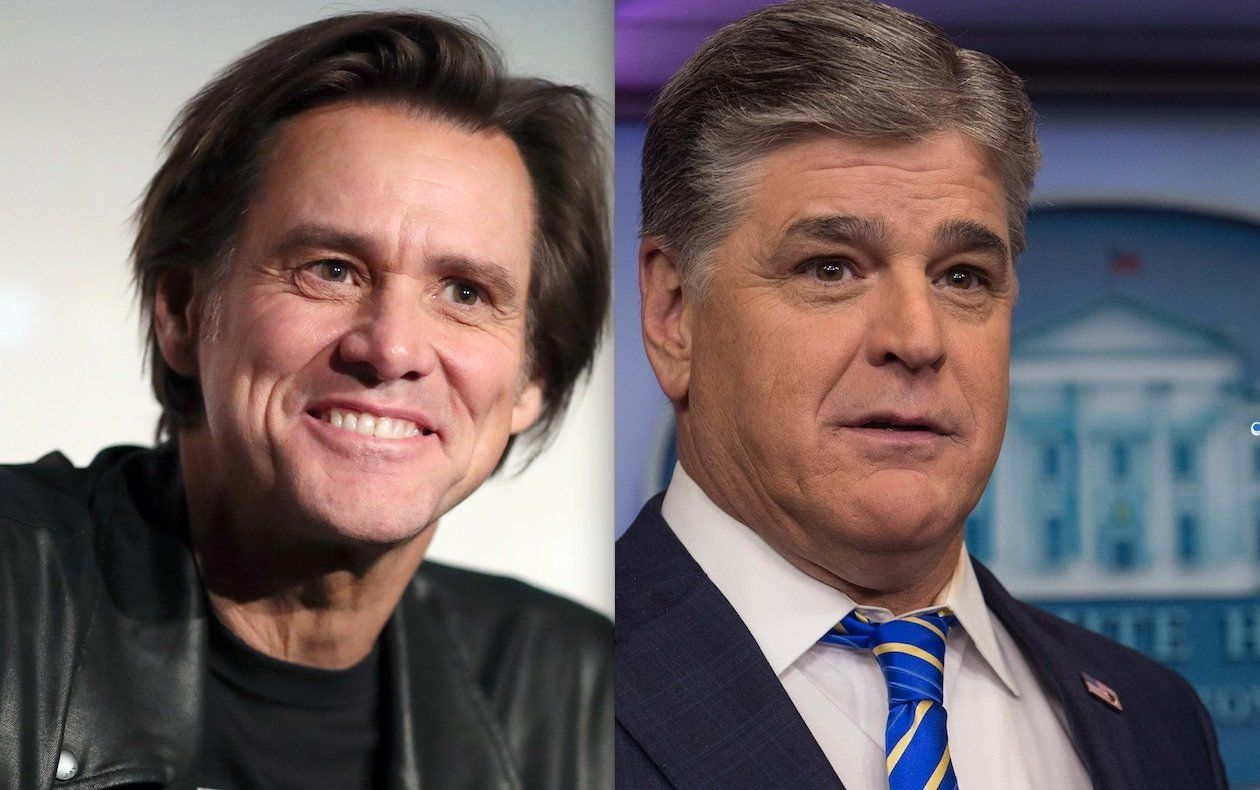 Jim Carrey Sean Hannity