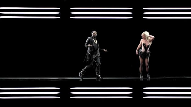 will.i.am and Britney Spears in the 'Scream And Shout'