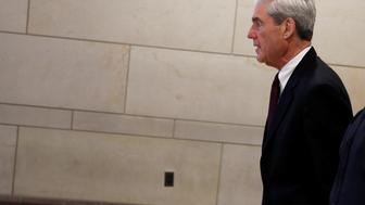Special Counsel Robert Mueller departs after briefing the U.S. House Intelligence Committee on his investigation of potential collusion between Russia and the Trump campaign on Capitol Hill in Washington, U.S., June 20, 2017. REUTERS/Aaron P. Bernstein     TPX IMAGES OF THE DAY