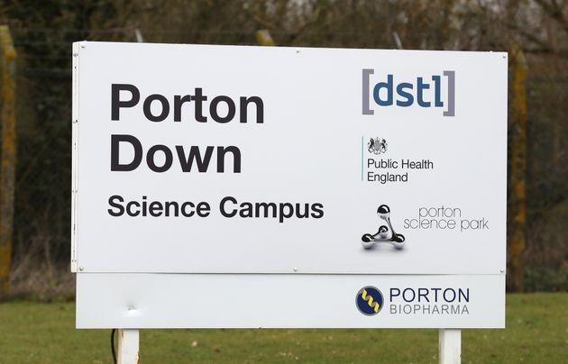 Porton Down, the UK's world-leading chemical and bio weapons defence