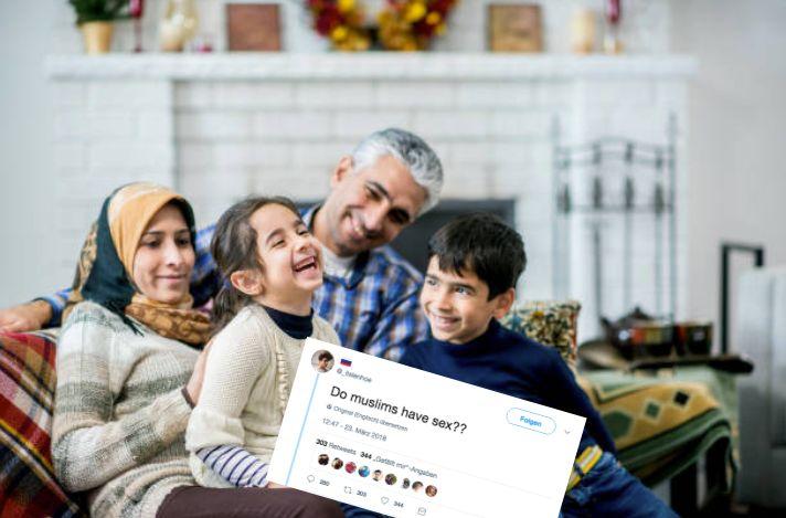 """Twitter-User fragt: """"Haben Muslime Sex?"""" Die Antworten sind wunderbar"""