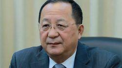 북한 외무상이 다음주에는 러시아 외무장관과