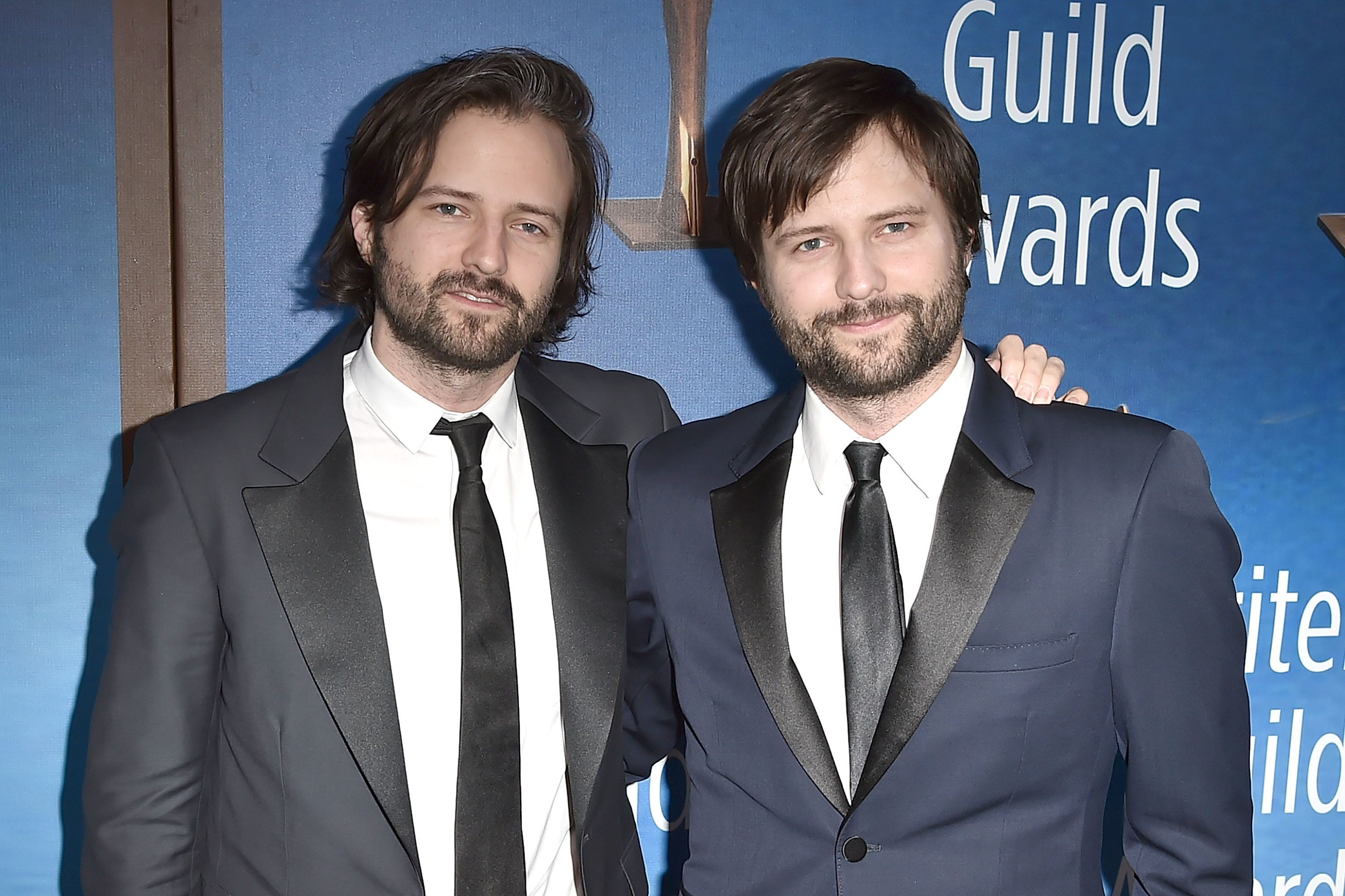 BEVERLY HILLS, CA - FEBRUARY 11:  Ross Duffer and Matt Duffer attend the 2018 Writers Guild Awards L.A. Ceremony at The Beverly Hilton Hotel on February 11, 2018 in Beverly Hills, California.  (Photo by David Crotty/Patrick McMullan via Getty Images)