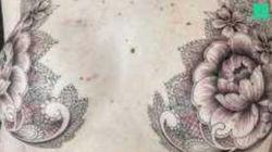 Ces tatoueurs font des prouesses pour transformer les cicatrices laissées par le cancer du sein