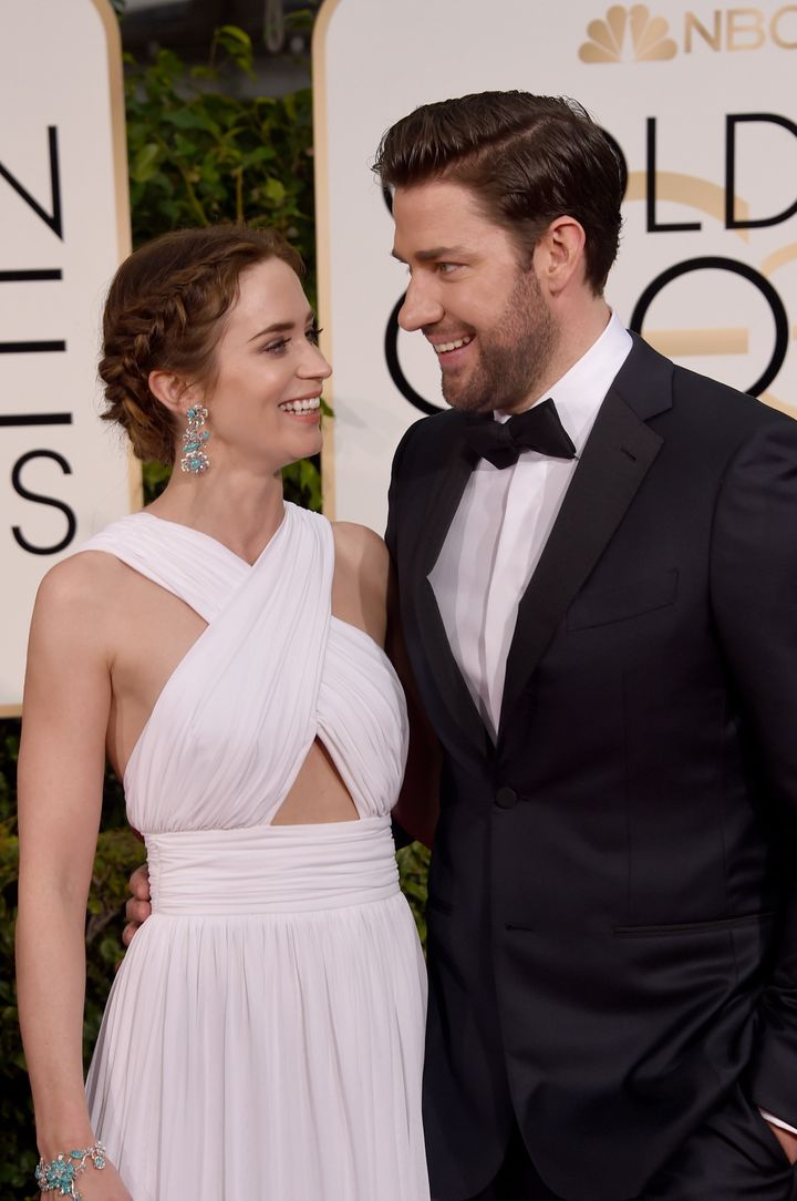 John Krasinski Emily Blunt Wedding.John Krasinski Told A Customs Agent Emily Blunt Is His Wife