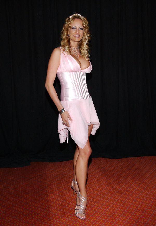 At the AVN Awards at the Venetian hotel in Las Vegas.