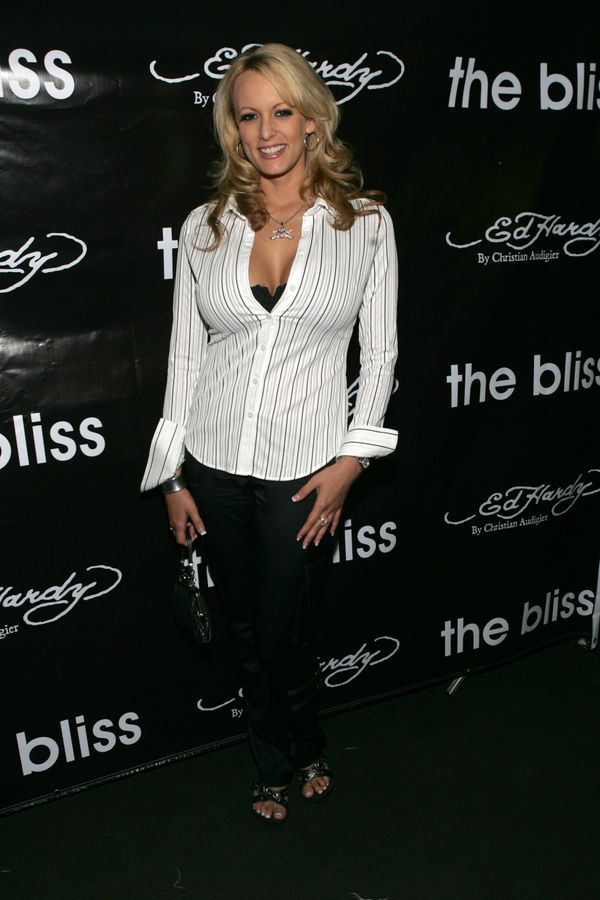 """At """"The Bliss"""" screening in Los Angeles."""