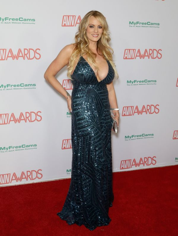 At the2018 Adult Video News Awards at the Hard Rock Hotel & Casino in Las Vegas.