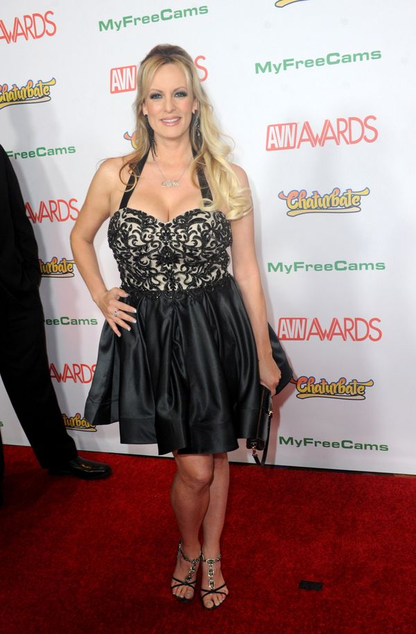 At the 2017 Adult Video News Awards held at the Hard Rock Hotel & Casino in Las Vegas.