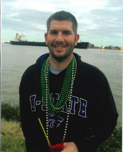 Shawn Arthur during an undated Mardi Gras celebration.