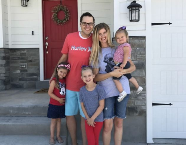 Daryl Austin and family on July 4,