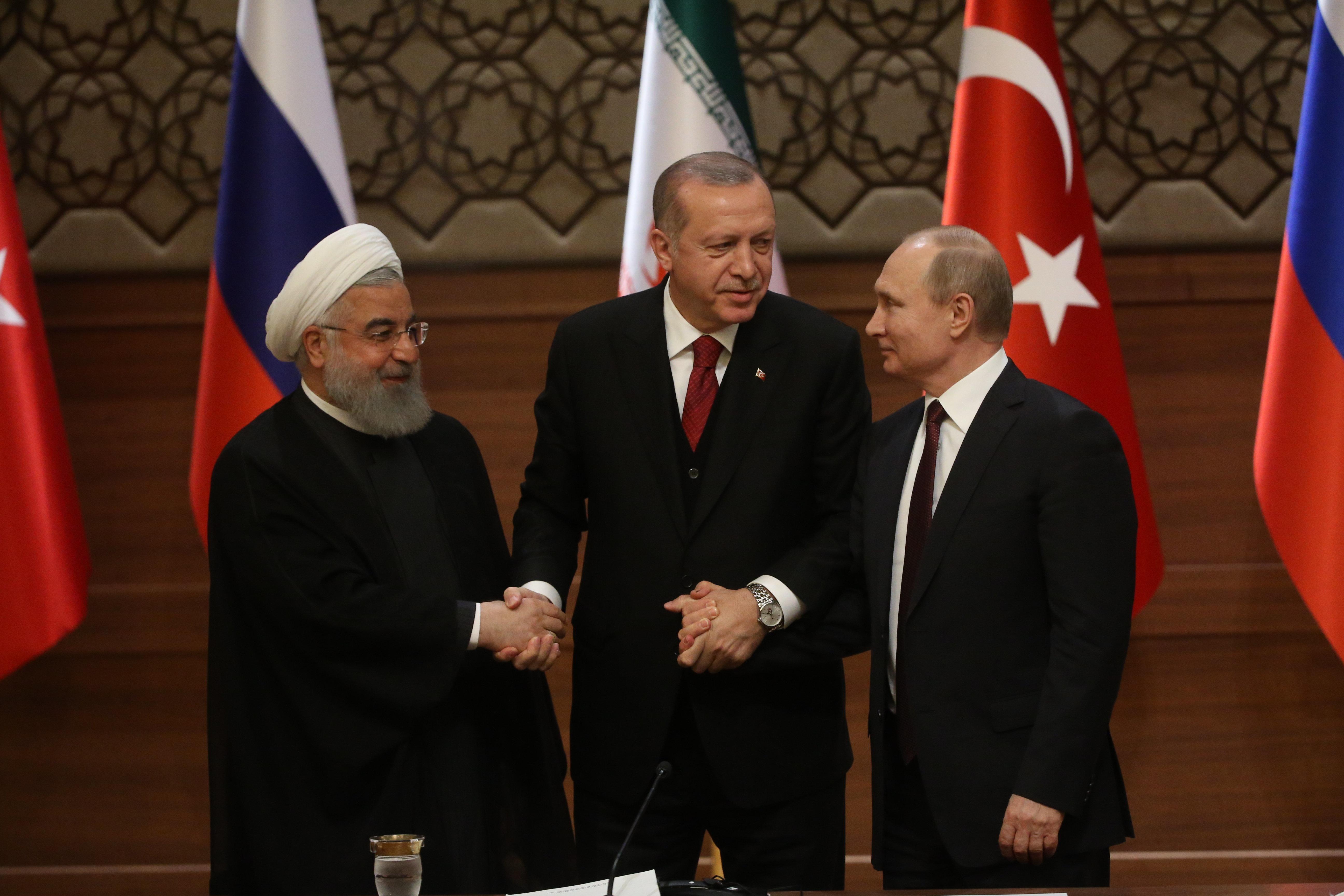 Syrien-Gipfel: Erdogan, Putin und Rohani zeigen sich einträchtig – und hegen verschiedene Interessen