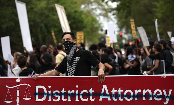 Some protesters have called for the resignation of Sacramento County District AttorneyAnne Marie Schubert.