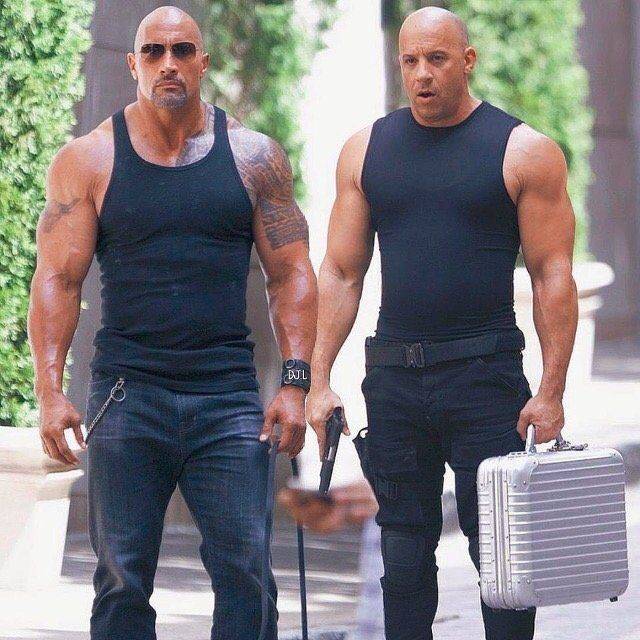 Οι έχθρες των σταρ: Ο Dwayne Johnson αρνήθηκε να γυρίσει σκηνές με τον Vin Diesel
