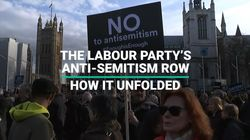 The Labour Party's Anti-Semitism Row - How It Unfolded