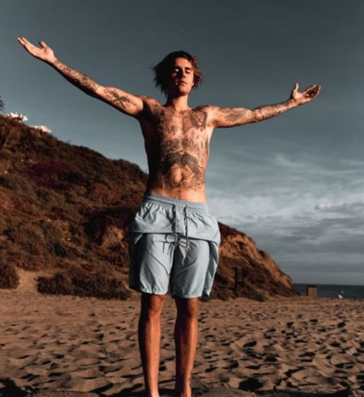 Justin Bieber Insists He Has No Regrets As He Shares Photo Of Entirely Tattooed Torso