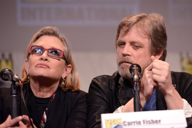 Mark said Carrie was 'irreplaceable' in the