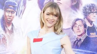 HOLLYWOOD, CA - MARCH 26:  Jaime King arrives to the Warner Bros. Pictures world premiere of 'Ready Player One' held at Dolby Theatre on March 26, 2018 in Hollywood, California.  (Photo by Michael Tran/FilmMagic)